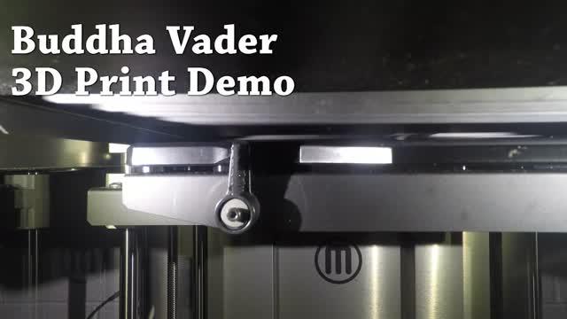 Buddha Vader 3D Print