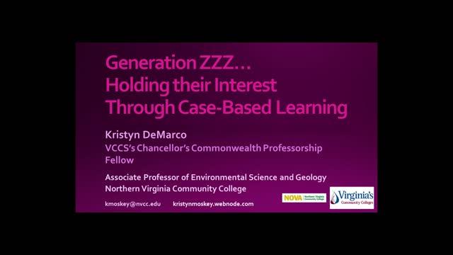 Generation ZZZ presentation