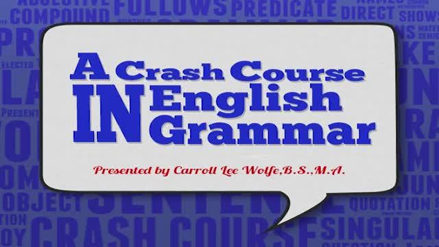 English Grammar Module 007